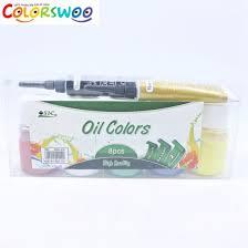 china oil paint set 30ml x 5 bottle