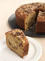 sour cream banana coffee cake bake or