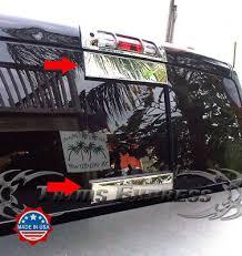 Fit 2009 2018 Dodge Ram Rear Sliding Window Tailgate Trim Molding Decal Ebay