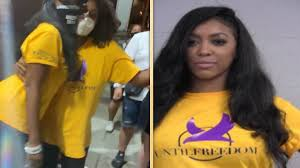 Porsha Williams Arrested Again While Peacefully Protesting for Breonna  Taylor | Entertainment Tonight