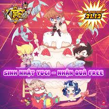 Mừng Yugi H5 sinh nhật 1 tuổi, Game4V gửi tặng bạn đọc hàng trăm ...