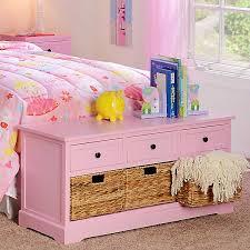 Pink 6 Drawer Kids Storage Bench Kirklands