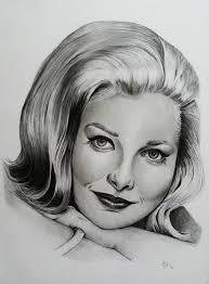 Carol Lynley Pencil Portrait Drawing by Adriana Holmes | Saatchi Art