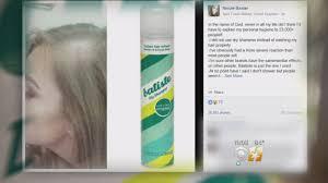 dry shoo overuse may cause hair loss