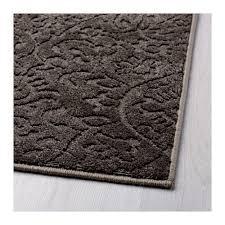 ikea dynt gray rug low pile rugs