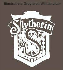 Slytherin Car Decal Ebay