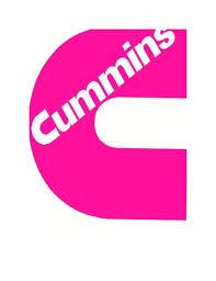 Hot Pink Cummins Vinyl Decal Uv Resistant Sticker Custom Made Stickers Custom Vinyl Decals Vinyl Decal Stickers