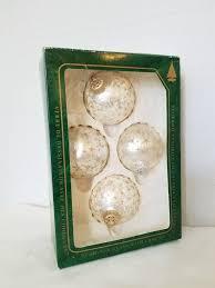 vintage krebs glass ornaments