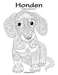 Amazon Com Honden Kleurboek Voor Volwassenen 1 2 Dutch Edition