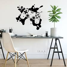 Gaming Controller Wall Decal Gamer Wall Decal Vinyl Etsy
