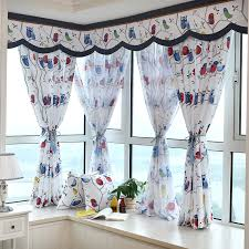 2015 Owls Fashion Children Kids Valance Cartoon Curtains Blind Sheer Curtain Shading Blackout For Living Room Free Shipping Curtain Blinds Kids Valancesheer Curtains Aliexpress