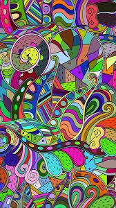 colorful doodle wallpaper kolpaper
