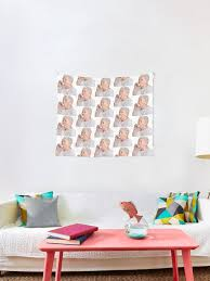 Old Lady Asthma Wall Decal Tapestry By 775426 Redbubble