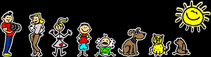 Family Stickers In Full Color Like No Other Even A Beginner Computer User Can Create A Family Sticker Very Easily