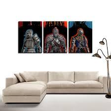 Dark Souls Knights Dope Game 3pc Canvas Wall Art Decor Game Geek Shop