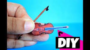 diy miniature violin you