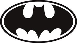 Batman Logo Oval Vinyl Decal Decals N More