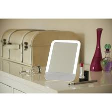 vanity mirror with usb rechargeable led