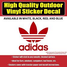 Adidas Vinyl Car Window Laptop Bumper Sticker Decal Colorado Sticker