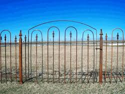 4 Wide Wrought Iron Gate For 3 Fence Iron Fence Wrought Iron Gate Wrought Iron Fences