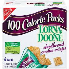 sco 100 calorie packs lorna doone
