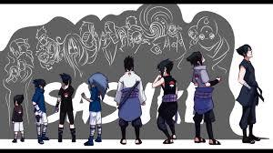 Naruto: Uchiha Sasuke's Evolution - all forms - YouTube
