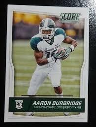 2016 Score Aaron Burbridge #377 SAN FRANCISCO 49'ers Mint !   eBay