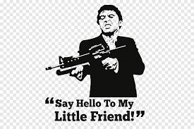 Al Pacino Scarface Tony Montana Wall Decal Mural Al Pacino Tshirt Text Png Pngegg