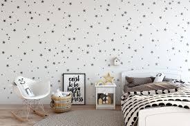 Vinyl Star Decals 148 Silver Stars Star Wall Decal Art Etsy