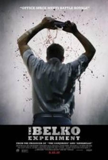 """Resultado de imagem para the belko experiment"""""""