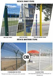 Steel Airport Security Fence With Y Post 12 14 Gauge Barbed Wire Guangzhou Factory Buy High Security Fence Anti Climb Security Fence Steel Wire Net Fence Product On Alibaba Com