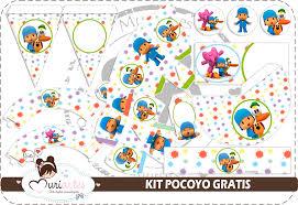 Kit De Pocoyo Para Imprimir Gratis Ideas Y Material Gratis Para