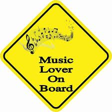 5in X 5in Music Lover On Board Sticker Bumper Stickers Window Stickers Vinyl Car Stickers