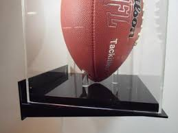 football display case vertical wall