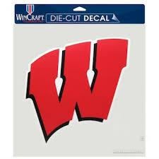 University Of Wisconsin Car Decals Decal Sets Wisconsin Badgers Car Decal C Bigtenstore Com