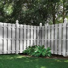 Shadowbox 6x6 Vinyl Fence Panel Vinyl Fence Freedom Outdoor Living For Lowes Small Backyard Landscaping Garden Fence Panels Privacy Fence Designs