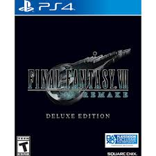 Final Fantasy VII Remake Deluxe Edition PlayStation 4 92324 - Best Buy