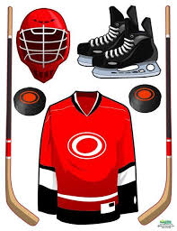 Hockey Wall Decals Sports Theme Wall Decals