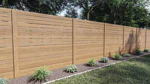 100 Cedartone Horizontal Picket Fence Material List At Menards