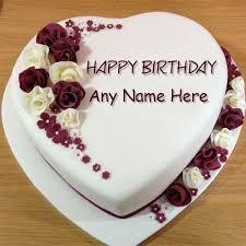 birthday cake image with name editor