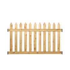 Cedar Picket Fence Kit Build It Yourself Deckexpressions