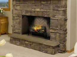 electric fireplace log set