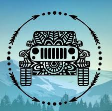 Jeep Mandala Sticker Jeep Decal Jeep Emblem Jeep Sticker Etsy In 2020 Jeep Decals Jeep Stickers Jeep Emblems