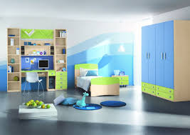 Modern Kids Room Ideas The Holland Abstract Canvas Wall Art With Blue And Green Bedroom Decorating Ideas Awesome Decors
