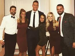 Aaron Judge, girlfriend Samantha ...