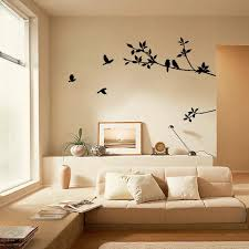 Tree Branch Black Bird Art Wall Stickers Removable Vinyl Decal Home Home Decor Poster For Kids Rooms Bedroom Living Room Sticker Wall Stickers Aliexpress