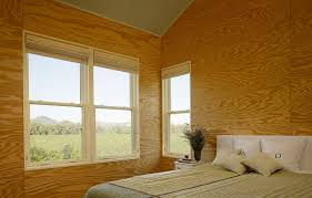 design work plywood as finish