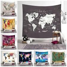 World Map Room Decor Baby Toqueglamour