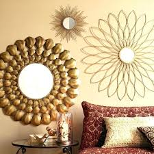round mirror wall decor baromet info