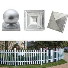 100mm Galvanised Steel Square Post End Cap For Fence Posts 10pcs Au In Outdoor 20 19 Picclick Au